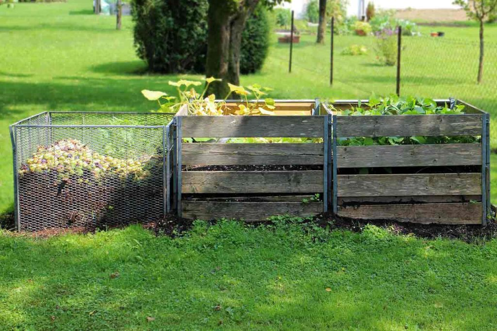using composting